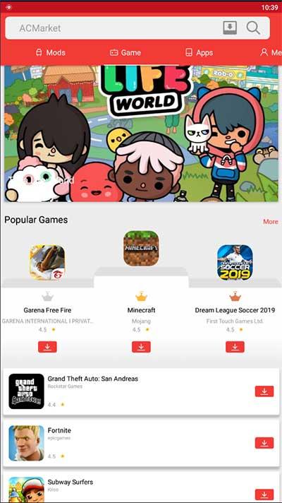 games ac market