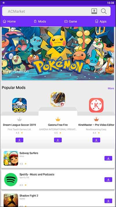 mods ac market